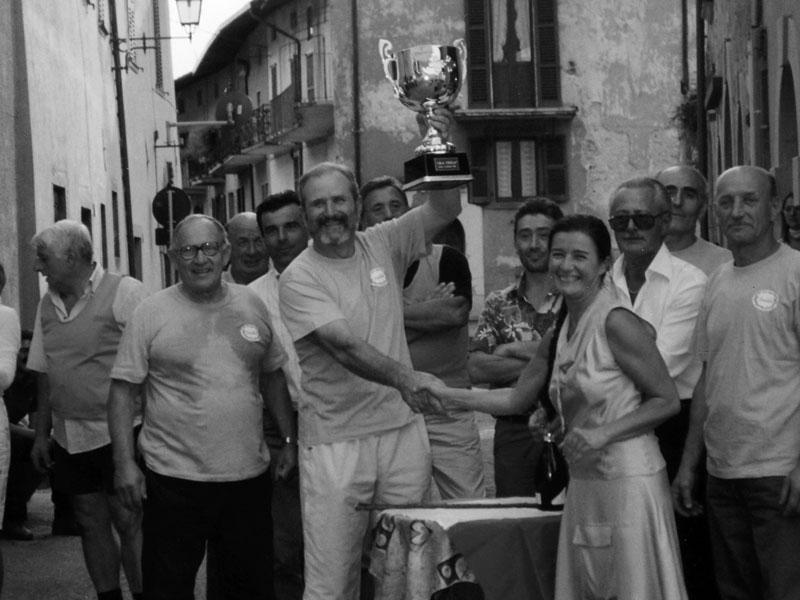 Foto Storica - Premiazioni Palio Gianico